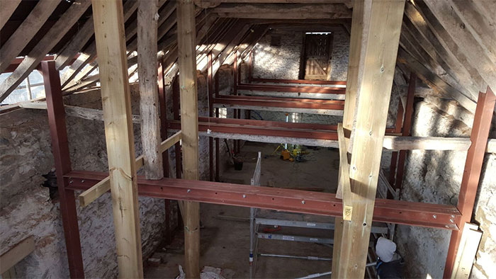 Structural work, renovation, steelwork, listed building, carpentry