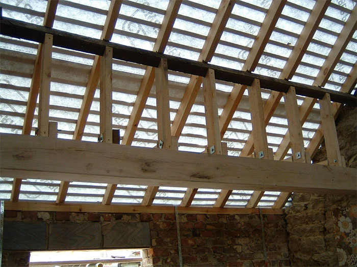 Oak, carpentry, structural works, carpentry, building
