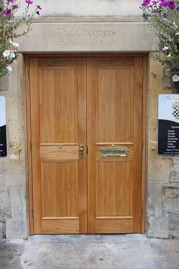 Front door, oak door, joinery, doors, carpentry
