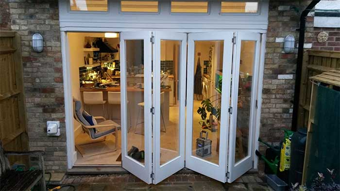 Bi-fold doors, jonery, carpentry, doors