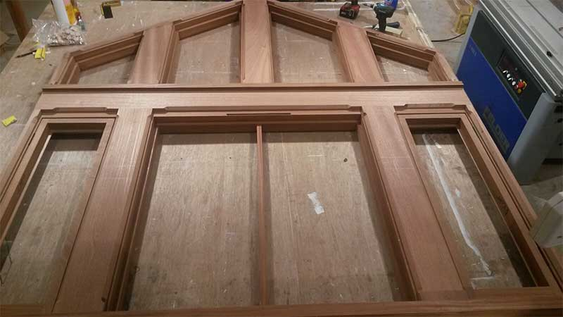Joinery, windows, greenoak, carpentry